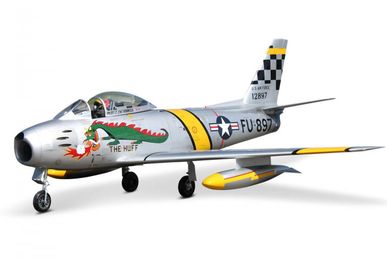 Tomahawk F-86 Sabre Scale RC Jet