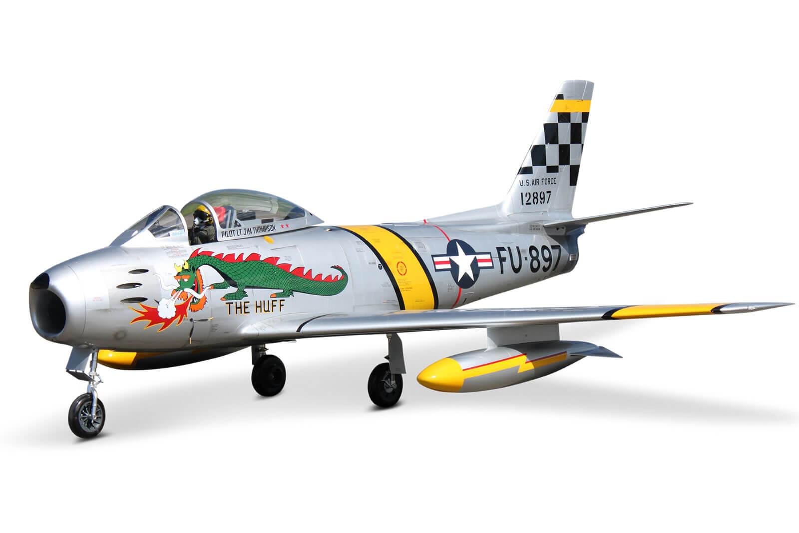Tomahawk F-86 Sabre Scale RC Jet