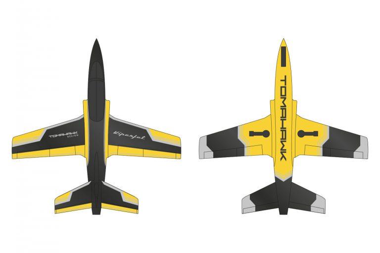 Type F black/yellow