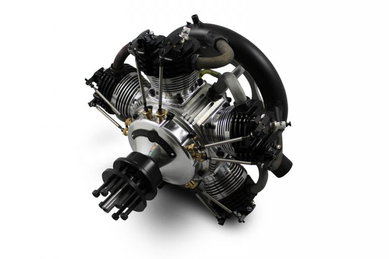 BlackStar 5-250 V3 Radial Engine by Tomahawk