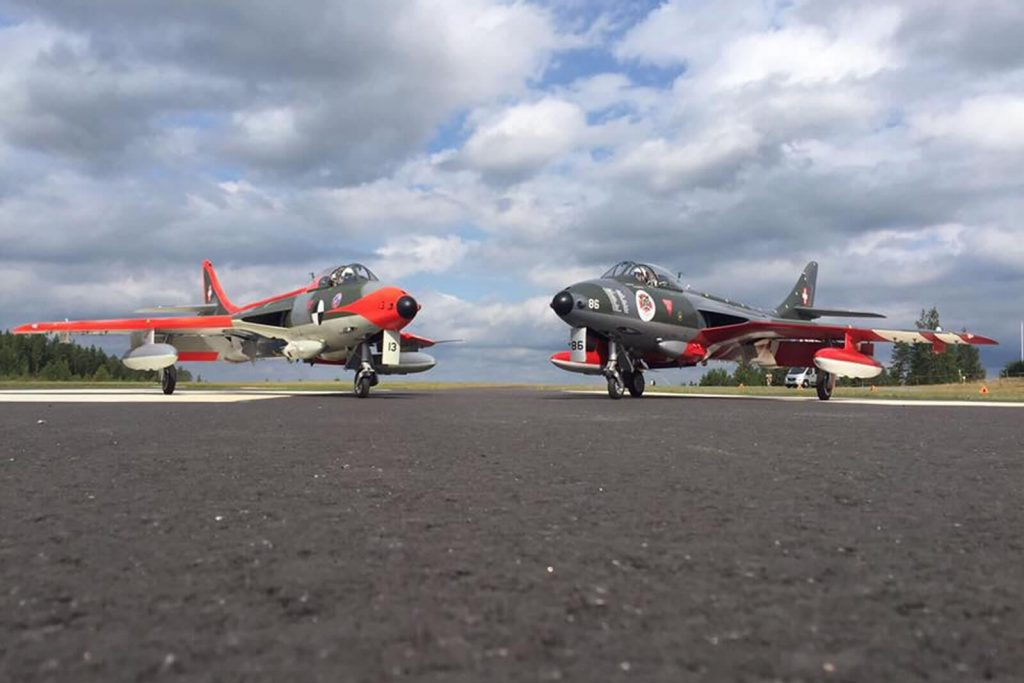 Tomahawk Hawker Hunter